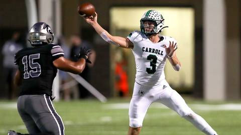 Quarterback Quinn Ewers leading Southlake Carroll to hot start in sophomore season