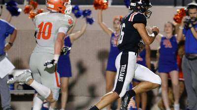 PHOTOS: Euless Trinity beats San Angelo Central to remain undefeated this season