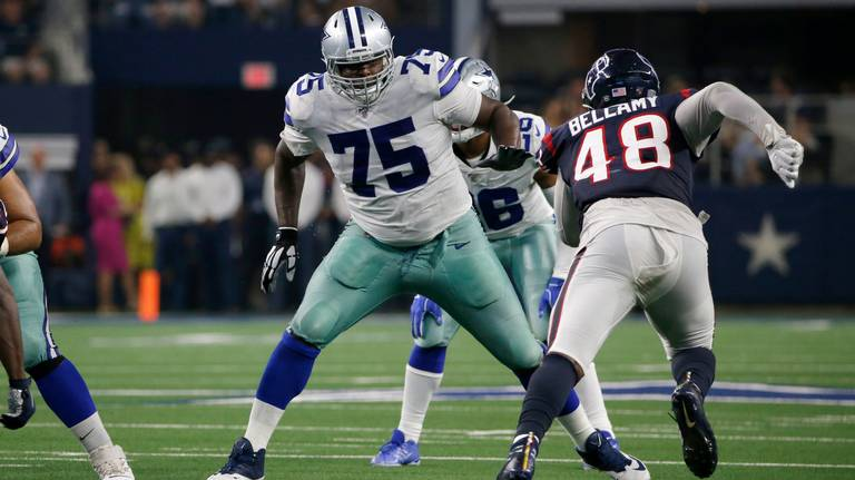 Tyron Smith again looks like the Cowboys' MVP. Especially when he's on the bench