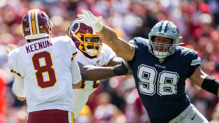 Dallas Cowboys' defense loses big piece to season-ending surgery