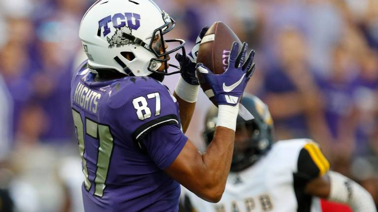 Why TCU WR TreVontae Hights loves being a special teams ace
