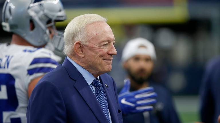 Sad reality for Jerry Jones: Cowboys are not an elite team but he's happy to be alive