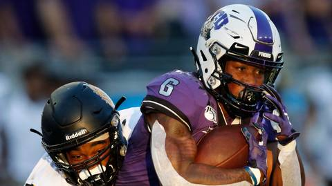 He ended spring ball as TCU's third-string RB. Now Darius Anderson is the Frogs' MVP