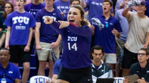 Watch as former Southlake star records game clinching block, sends TCU to first Big 12 win