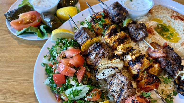 $7 lunches, large $10-$12 dinners make Amira's Mediterranean a bargain choice