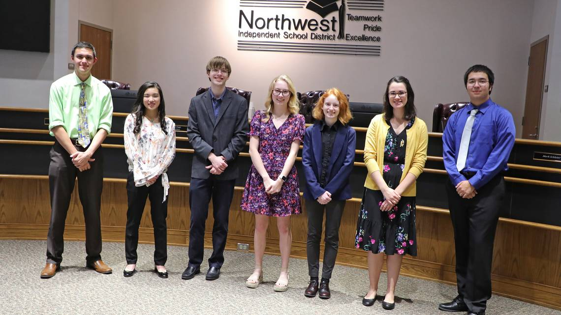 Seven Northwest ISD students exercise brain power as National Merit semifinalists